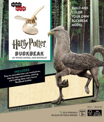 Harry Potter: Buckbeak 3D Wood Model and Booklet