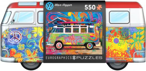 VW Bus Tin with Puzzle