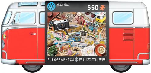 VW Road Trips Puzzle Tin