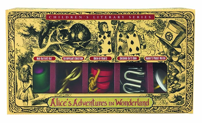 Alice i Underlandet set of 5