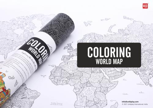 Coloring World Map