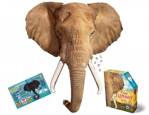 I Am Elephant, Head Shape Puzzles 700  bitar