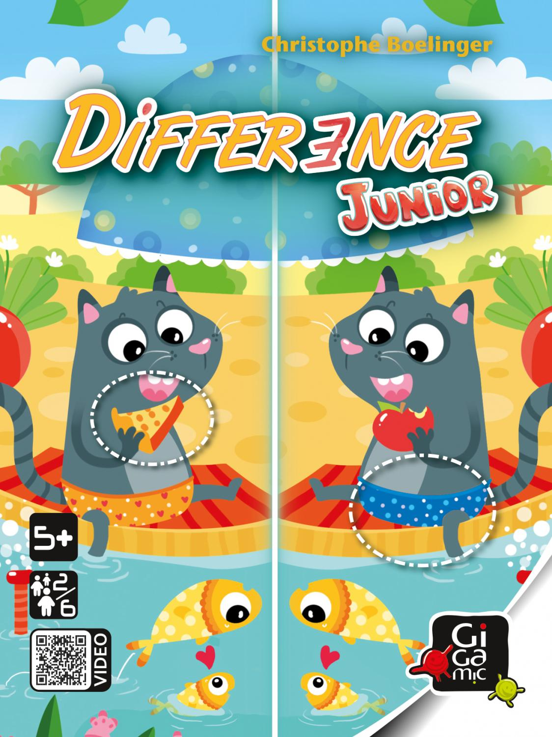 Difference Jr