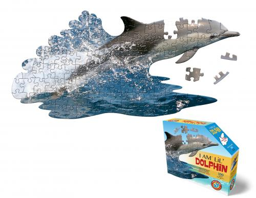 I Am Dolphin, Head Shape Puzzles 100 bitar