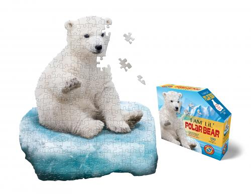I Am Polarbear, Head Shape Puzzles 100 bitar