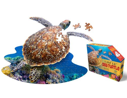 I Am Seaturtle, Head Shape Puzzles 100 bitar