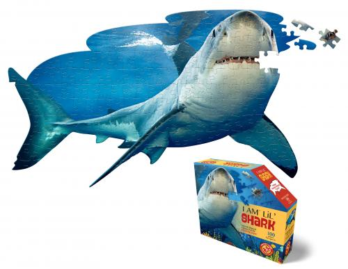 I Am Shark, Head Shape Puzzles 100 bitar