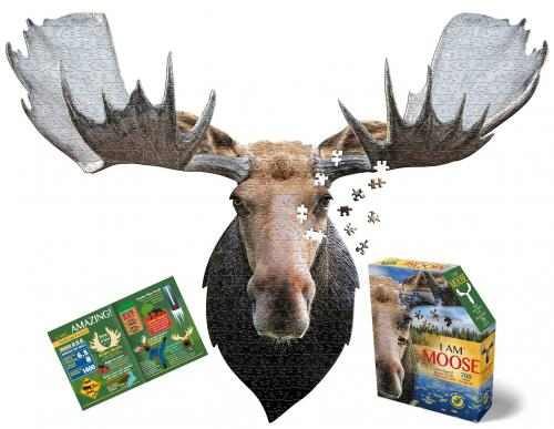 I Am Moose, Head Shape Puzzles 700  bitar
