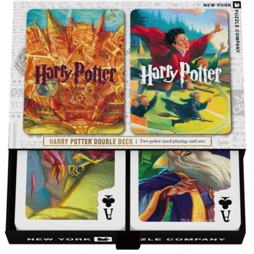 Spelkort Harry Potter Doubble Deck