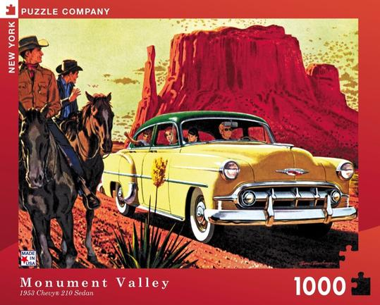 "Pussel GM ""Monument Valley"" 1000 bitar"