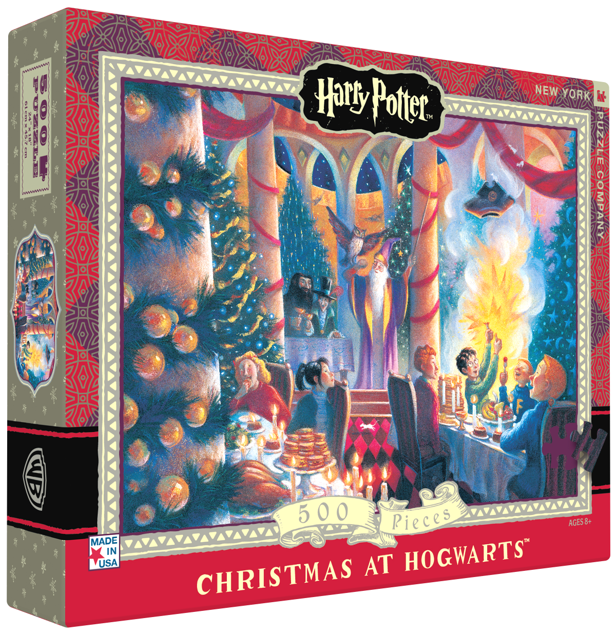 """Pussel Harry Potter """"Christmas at Hogwarts"""" 500..."""