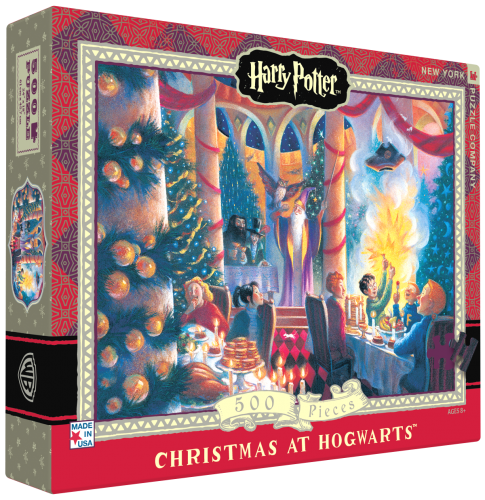 "Pussel Harry Potter ""Christmas at Hogwarts"" 500..."