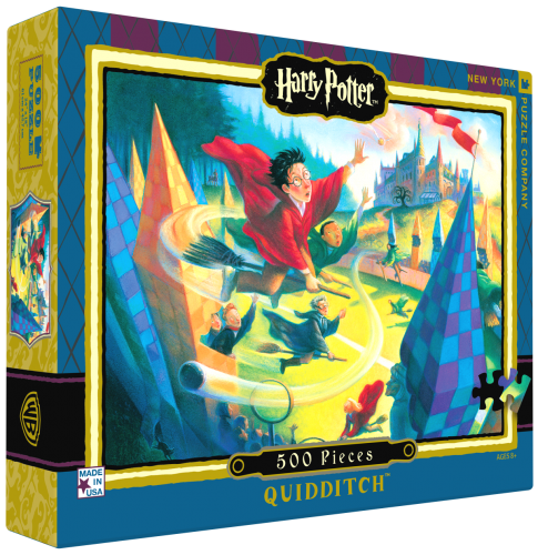 "Pussel Harry Potter ""Quidditch"" 500 bitar"