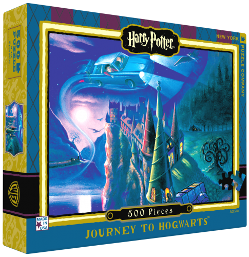 "Pussel Harry Potter ""Journey to Hogwarts""  500 ..."