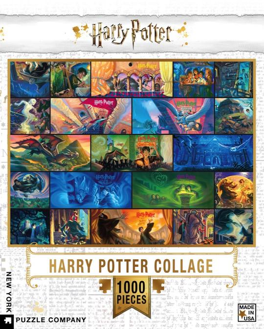 """Pussel Harry Potter """"Collage"""" 1000 bitar"""