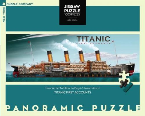 "Pussel Penguin Books ""Titanic First Accounts"" 1000 bitar"