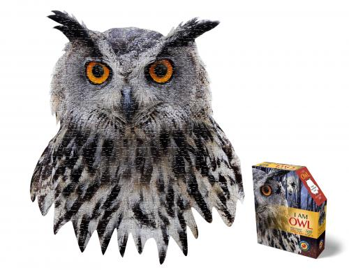 I Am Owl, Head Shape Puzzles 550  bitar