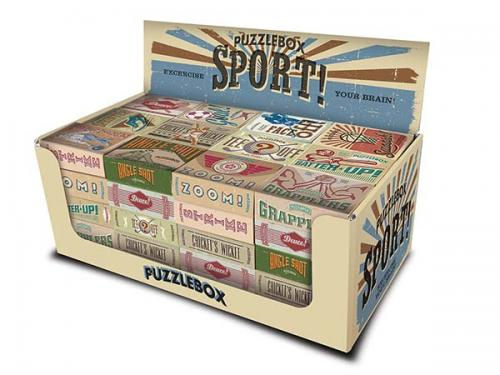 Puzzlebox Sports Display (60st)