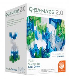 Q-Ba-Maze Starter Box Cool colors