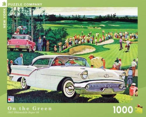 """Pussel GM """"On The Green"""" 1000 bitar"""