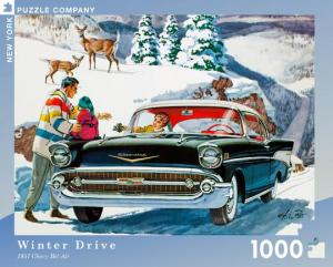 "Pussel GM ""Winter Drive"" 1000 bitar"