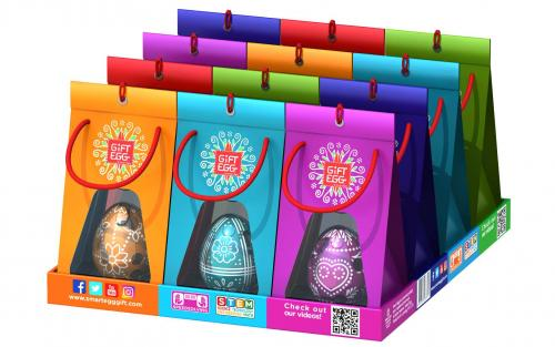 Smart Egg - Easter Display 12 st