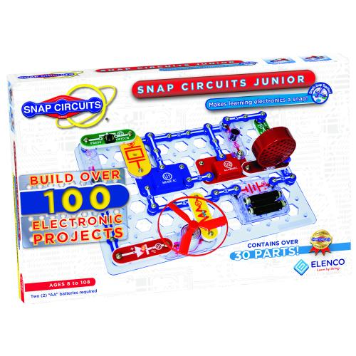 Snap Circuits Jr. (100 projekt)