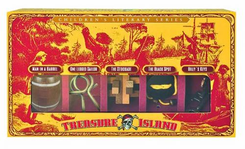 Treasure Island set of 5