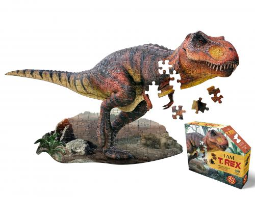 I Am T-rex, Head Shape Puzzles 100 bitar