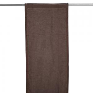 Panelgardin NOVA, enfärgad, brun