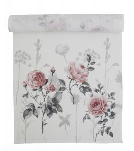 Bordslöpare Rosey, vackra rosor, rosa