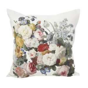 Kuddfodral Blomstery med blommor, multi