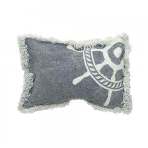 Necessär Blueish, maritimt motiv, blågrå