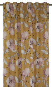 Gardinlängd Lilli med stora blommor, gul