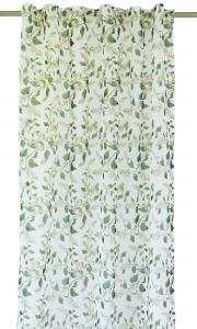 Gardinlängd Sorbus med snöbär, vit/grön