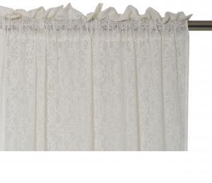 Gardinkappa Ljuvlig i vackraste spets, vit