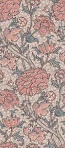 Metervara William Morris, Evy, rosa