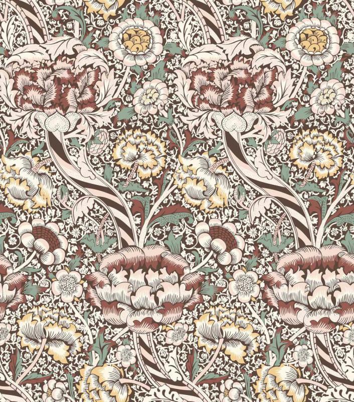 Metervara William Morris, Dashy, rosa