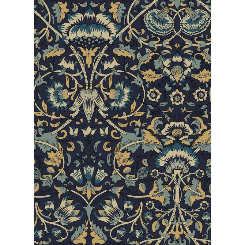 Metervara William Morris, Ellen, blå
