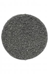 Stolsdyna DORA, fårskinsimitation, grå