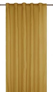 Gardinlängd RIMY, enfärgad, extra lång och bred, gul