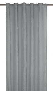 Gardinlängd RIMY, enfärgad, extra lång och bred, grå