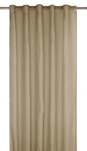 Gardinlängd RIMY, enfärgad, extra lång och bred, beige