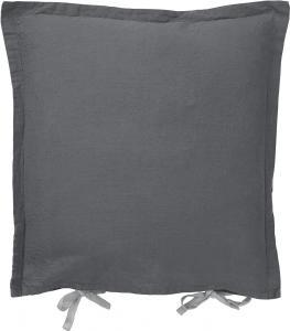 Kuddfodral AMY, halvlinne, grå