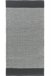 Matta STRIPE, vävd, grå