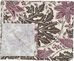 Duk ZUCCHINI, blommönster, lila