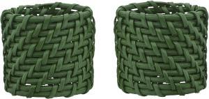 Servettring ZOE, 4-pack, grön