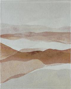 Väggbonad/textiltavla i jacquard DUNES, beige