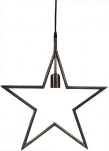Julstjärna TINDRA Hanging star, matt svart