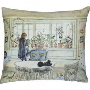 Kuddfodral, BLOMSTER, Carl Larsson, linne